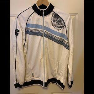 Quicksilver zip cotton track jacket sweatshirt